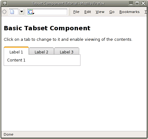 Panel Css Example Basic Panel Tabset Example